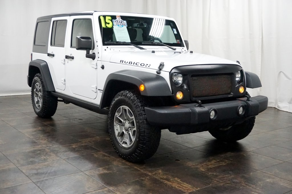 2015 Jeep Wrangler Unlimited Rubicon >> Pre Owned 2015 Jeep Wrangler Unlimited Rubicon 4wd 4d Sport Utility