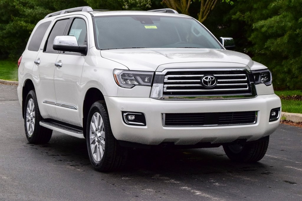 New 2019 Toyota Sequoia Platinum 4D Sport Utility in ...