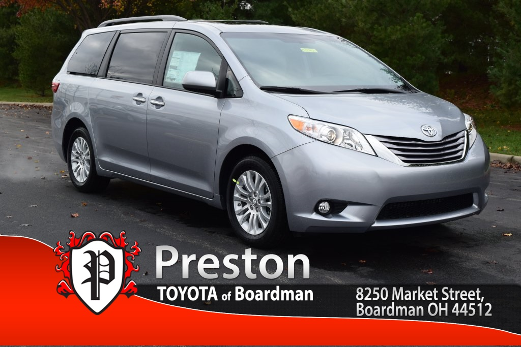 new 2017 toyota sienna xle premium 4d passenger van in boardman t17303 toyota of boardman. Black Bedroom Furniture Sets. Home Design Ideas