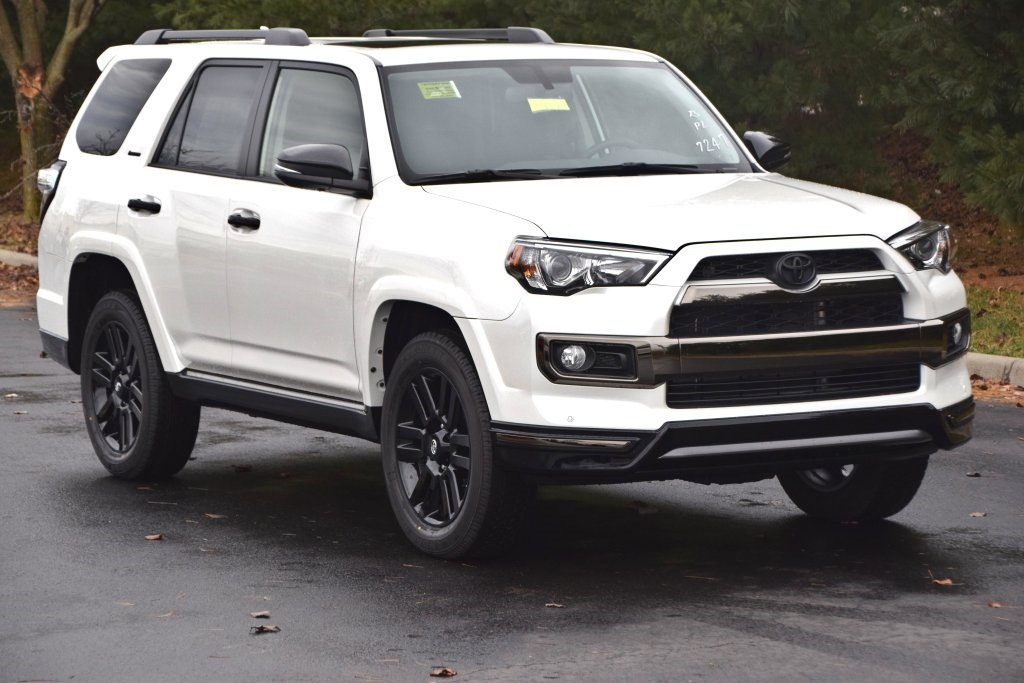 New 2019 Toyota 4runner Limited Nightshade 4d Sport Utility In