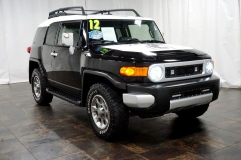 Pre-Owned 2012 Toyota FJ Cruiser Base